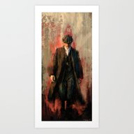 Tommy Shelby Art Print