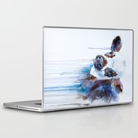 cow Laptop & iPad Skins featuring Cow by Slaveika Aladjova