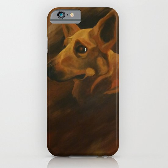 Native American Indian Dog iPhone & iPod Case