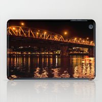 hawthorn bridge iPad Case