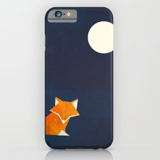 Origami Fox And Moon iPhone 6 Slim Case