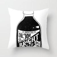 Don't Be Stupid Elixir Throw Pillow