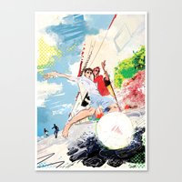 Pelada Canvas Print