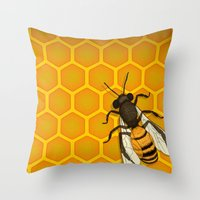 The Last Honeymaker Throw Pillow