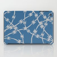 Trapped Blue iPad Case