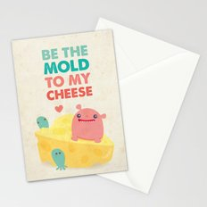 Be My Cheese Mold Stationery Cards