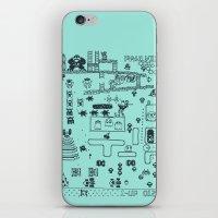 Retro Arcade Mash Up iPhone & iPod Skin