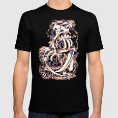 MISSINGNO Mens Fitted Tee Black SMALL
