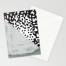 waves/grid #6 Stationery Cards