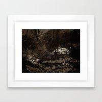 Beyond Any Surface Lies … Framed Art Print