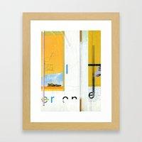 Petrock Framed Art Print