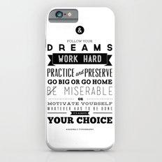 Sincerely Typography iPhone 6s Slim Case