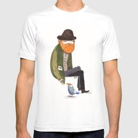 Eli Mens Fitted Tee White SMALL