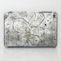 Sidewalk Flower iPad Case