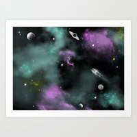 Deeep Space Art Print