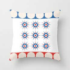Tic Tac Toe - Towels & more Throw Pillow