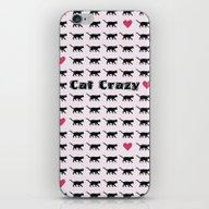 Cat Crazy iPhone & iPod Skin