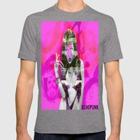 Brooke Candy Mens Fitted Tee Tri-Grey SMALL