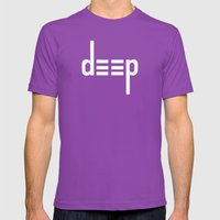 DEEP - Ambigram Series (… Mens Fitted Tee Ultraviolet SMALL