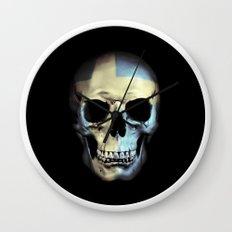 Swedish Skull Wall Clock