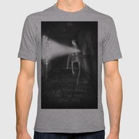 James Sunderland from Silent Hill 2 Mens Fitted Tee Athletic Grey SMALL