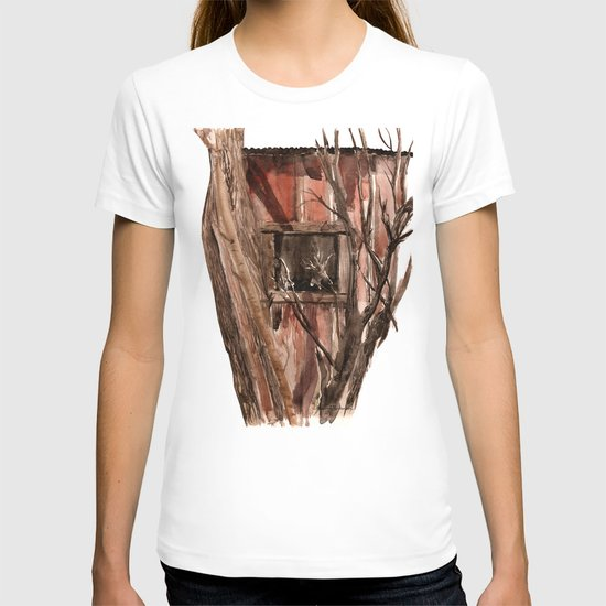 Barn window T-shirt
