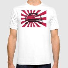 240Z - Rising Sun Mens Fitted Tee White SMALL