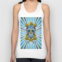 Sugar Skull- Day Of The … Unisex Tank Top