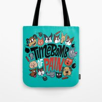 Time Bomb Of Pain Tote Bag