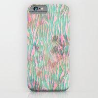 Minty Zebra iPhone 6 Slim Case