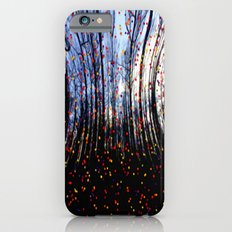 Coloured Snow Flakes Slim Case iPhone 6s