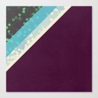 Cubic pattern II Canvas Print