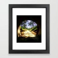 Cheviot Tunnel Framed Art Print