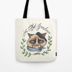 Monsieur Grumpy Tote Bag