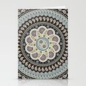 Mandala Paisley Stationery Cards