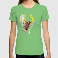 #Colisbry Womens Fitted Tee Grass SMALL