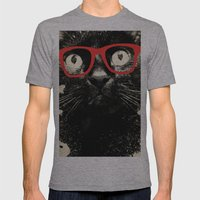 SMART CAT Mens Fitted Tee Athletic Grey SMALL