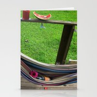 Sunday Afternoon (color) Stationery Cards