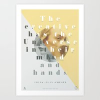 We Own The Universe  Art Print