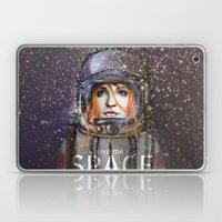 Give Me Space (Girl) Laptop & iPad Skin