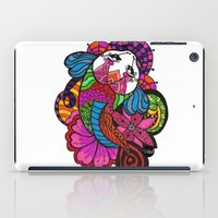 Koi Zentangle iPad Case