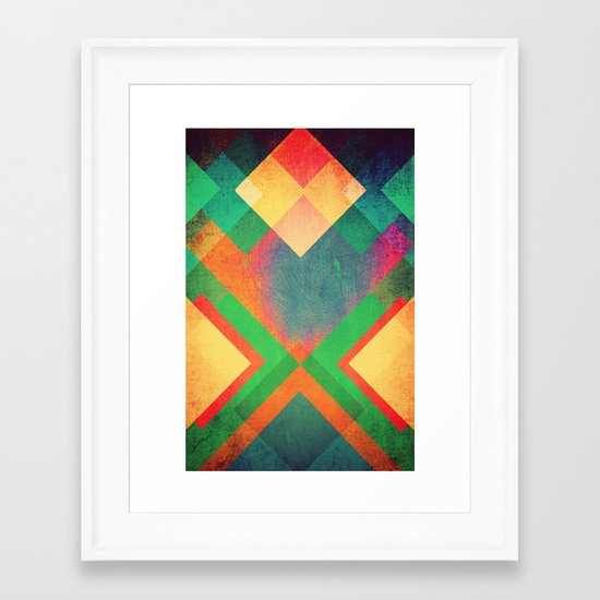 Backlash Framed Art Print