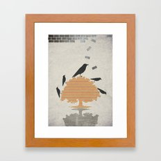 The Carrion Crow 1 Framed Art Print