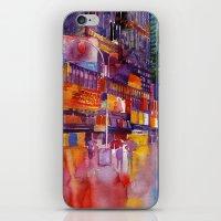 Walk in New York iPhone & iPod Skin