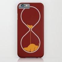 iPhone & iPod Case featuring giraffe hourglass by gazonula