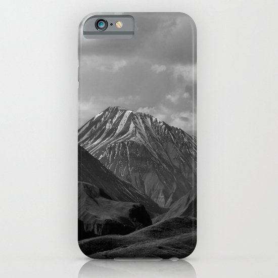 Black Mountains iPhone & iPod Case