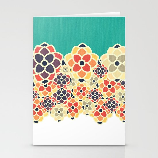 Spring Garden Stationery Card