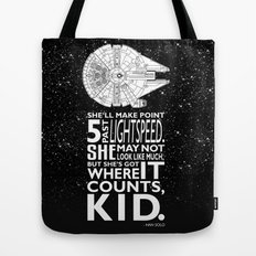 Star Wars - What a piece of Junk! Tote Bag