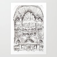 a superfluous organ Art Print