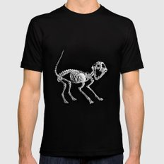 The Purrfect Scare Black SMALL Mens Fitted Tee